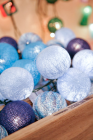 Cotton Ball Christmas Lighting